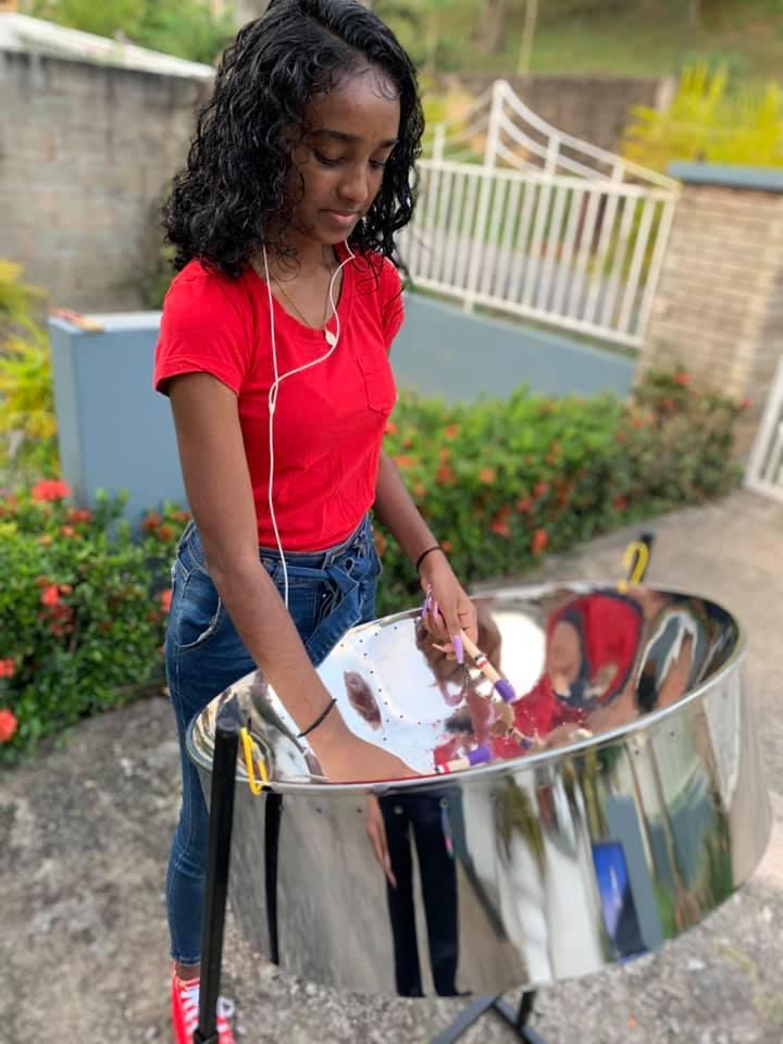 trinidadian pannist