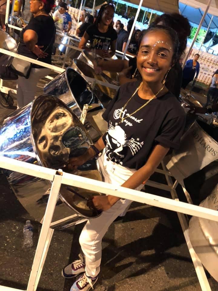 Tiajuana Hernandez trinidadian pannist